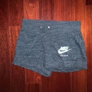 Nike Women's Turquoise Athletic Shorts